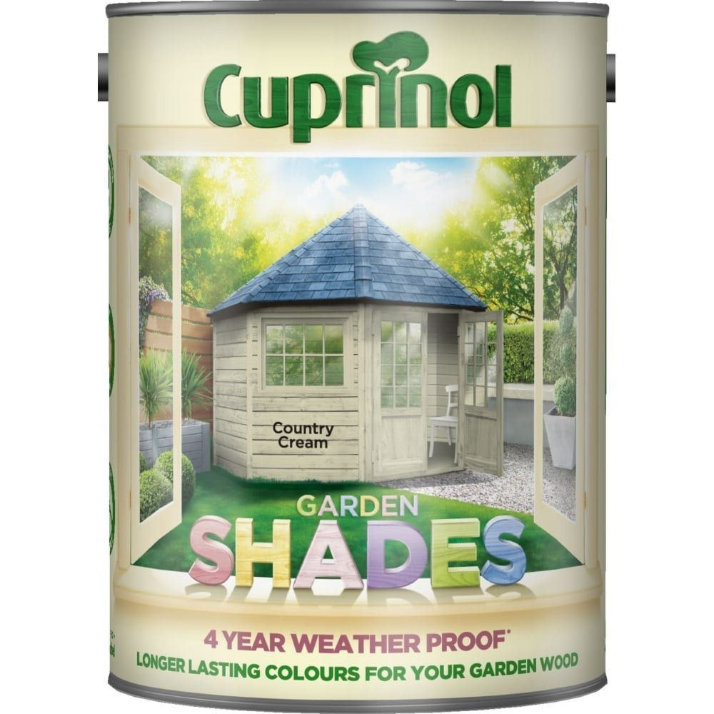 Cuprinol 2.5 Litre Garden Shades Special Mix Colours Sandy Shell