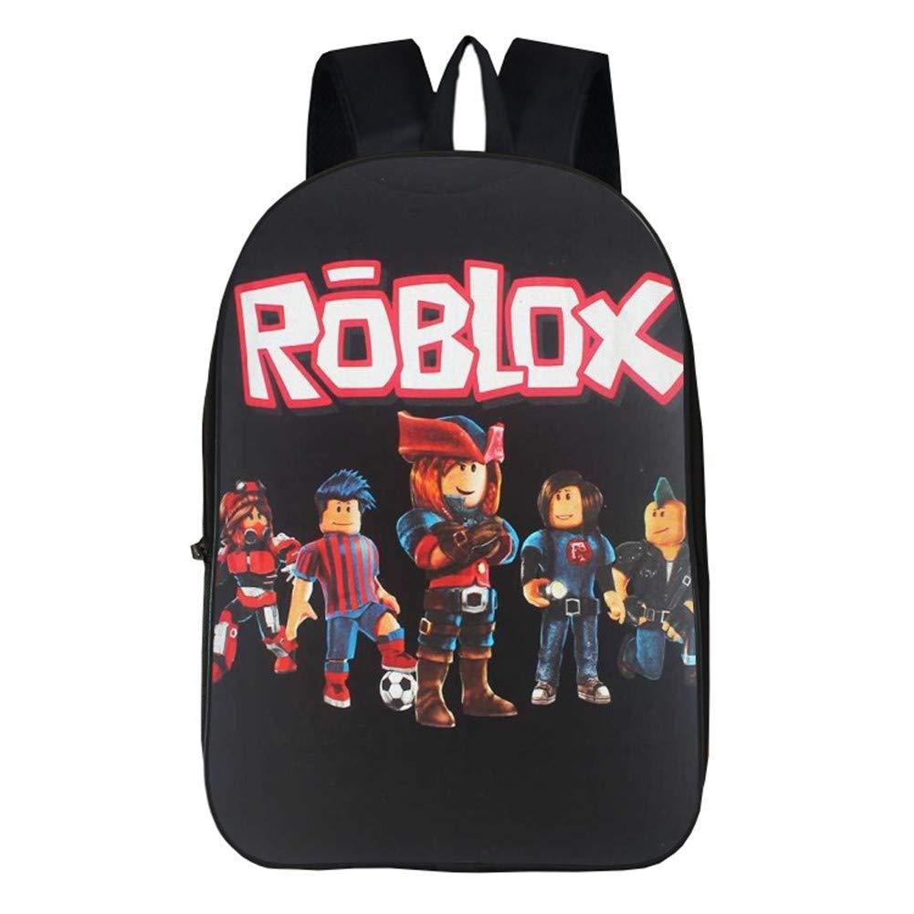 Roblox Messenger Bags For Kids Niños Niñas Adolescentes Bolsa de Viaje Bolsas Bandolera para Estudiantes Juego Mochila (1)
