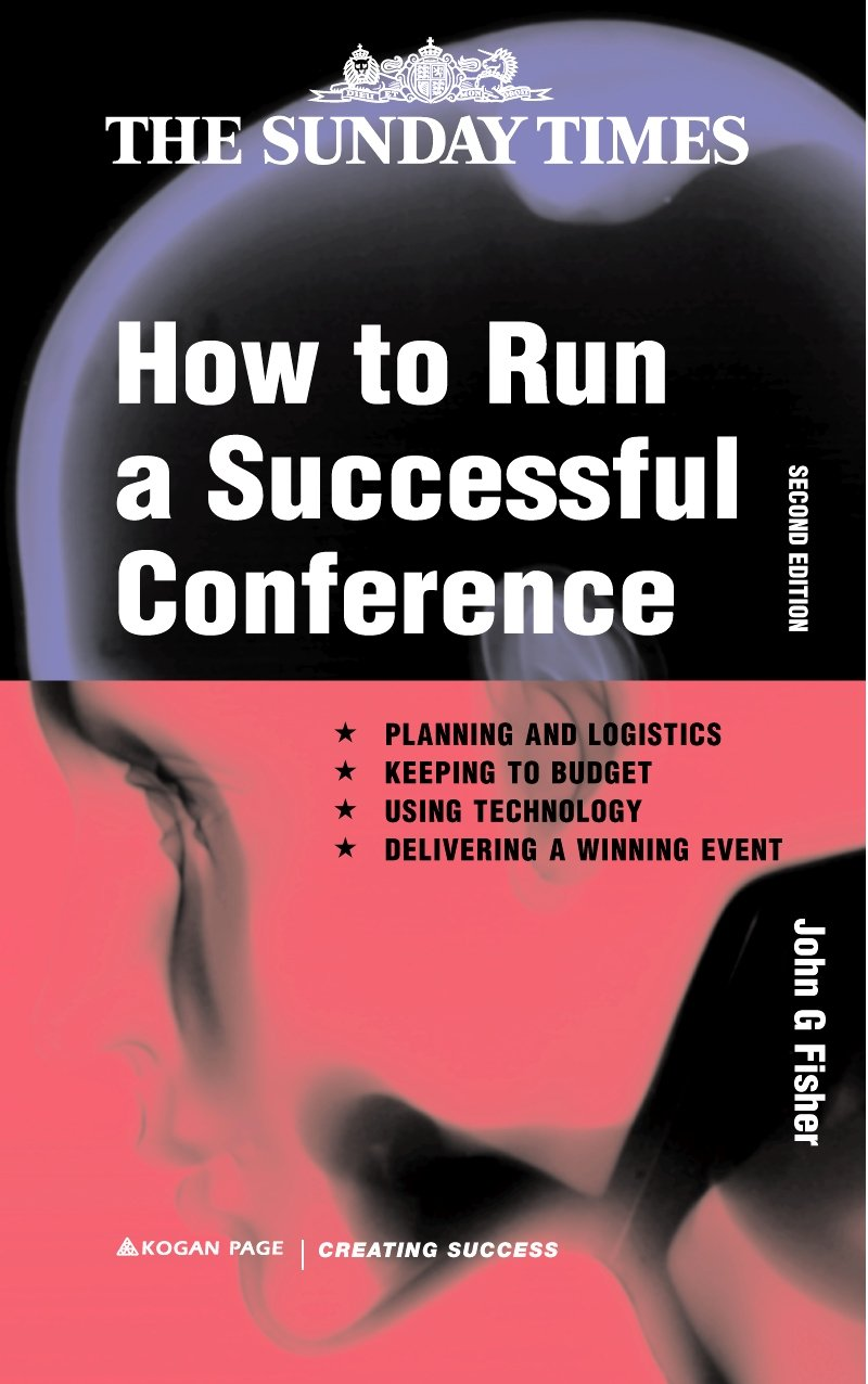 amazon how to run a successful conference planning and logistics