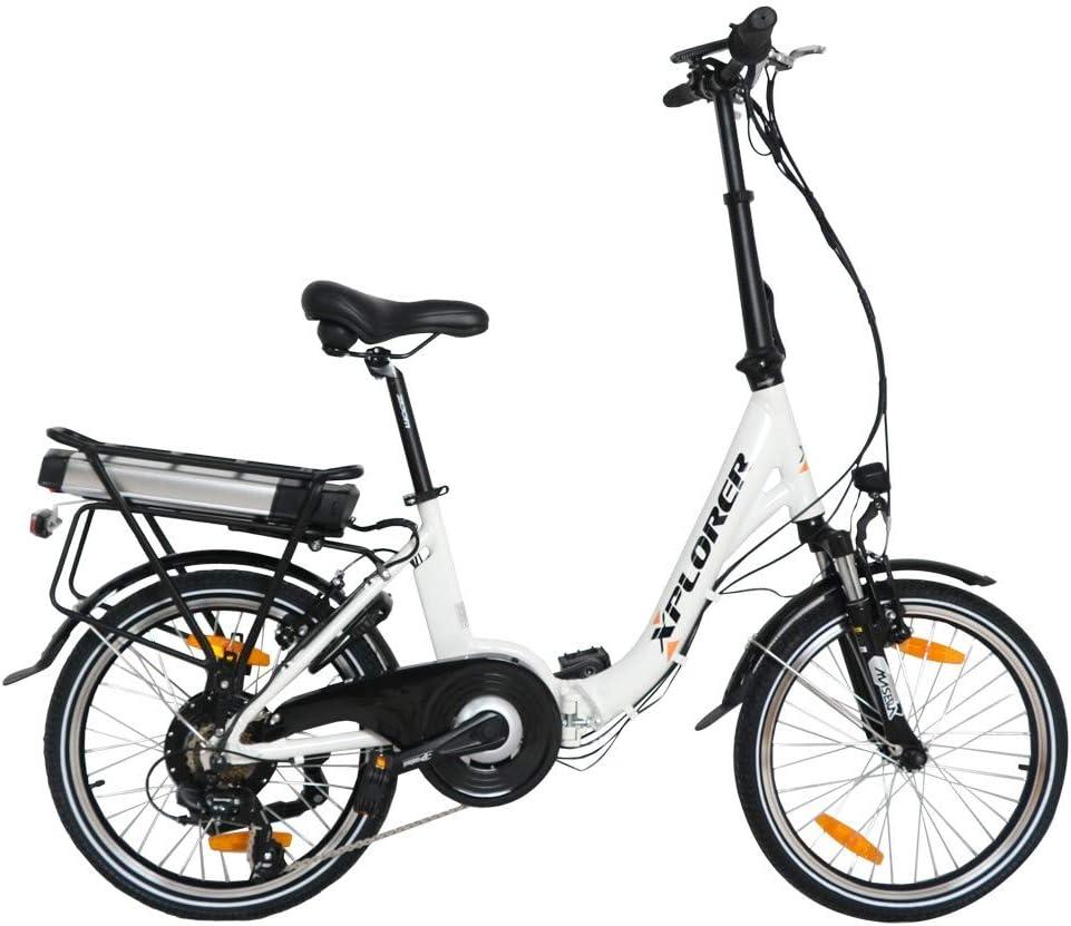 City Vibe, 20 Pulgadas, Bicicleta Eléctrica Plegable para Adultos ...