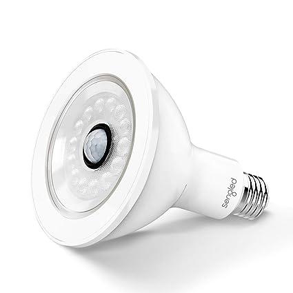 big sale 26f89 d6ea0 Sengled LED Bulb with Motion Sensor, PAR38 Smart Security Floodlight Bulb  3000, 1050 Lumens, Waterproof for Outdoor Use, 1 Pack