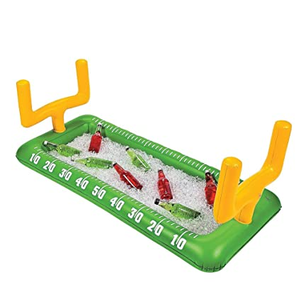 Merveilleux Football Field Goal Post Inflatable Buffet Snack Bar Cooler   Tailgate U0026  Home Party Supplies