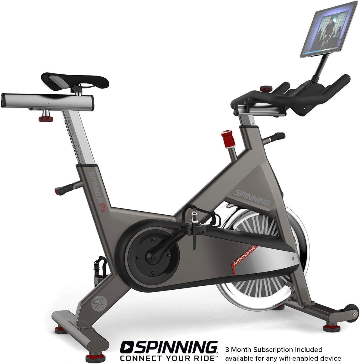 SPINNING® P5 Bicicleta de Ciclismo para Interiores Unisex, Plata ...