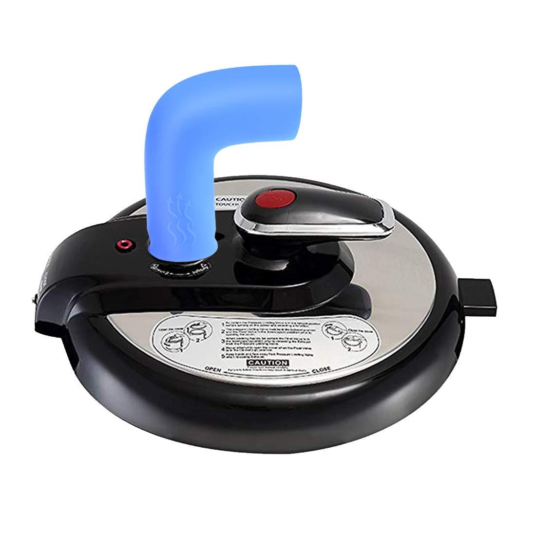 TENACHI Steam Release Pressure Cooker Silinone Diverter 360 Rotation Steam Guide Instant Pot Accesories Duo and Smart Model
