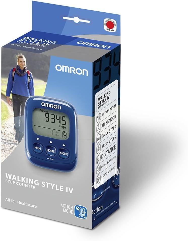 OMRON Walking Style IV HJ-325-EB - Podómetro, Contador de calorías ...
