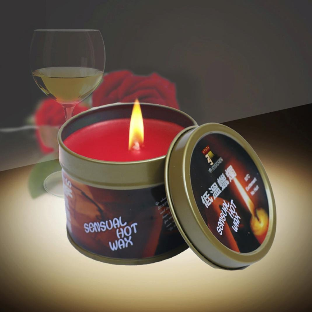 Livoty Low Temperature Candles Drip Wax for Valentine's Day to Stress Relief and Relaxation
