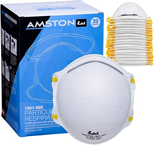 Particulate Dust N95 Amston Respirator Niosh-certified Masks For -