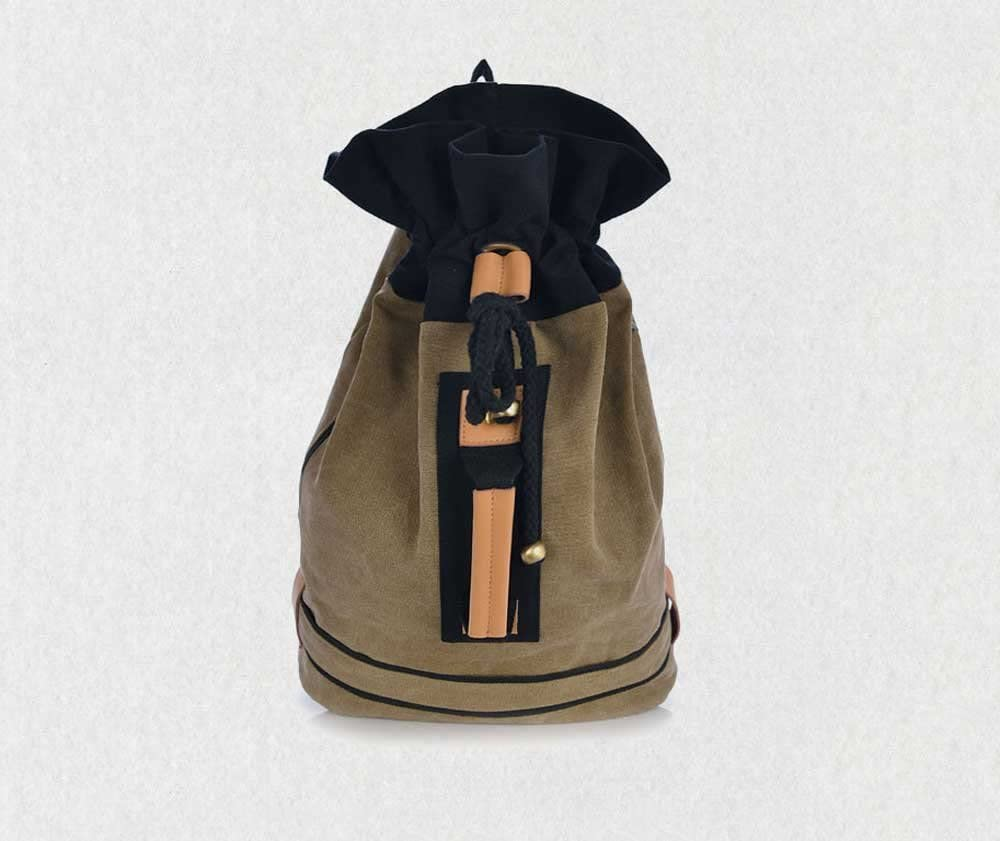 Amyannie Candy Shape Backpack Casual Shopping Backpack Bag Canvas Bag Fresh Backpack