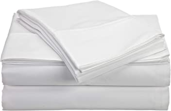 JB Linen 600 Thread-Count Egyptian Cotton Extra Deep Pocket 1PC Fitted Sheet//Bottom Sheet Full XL 54 x 80 Beige Solid Fit Up to 8 inches Deep Pocket Fully Elastic All Around.