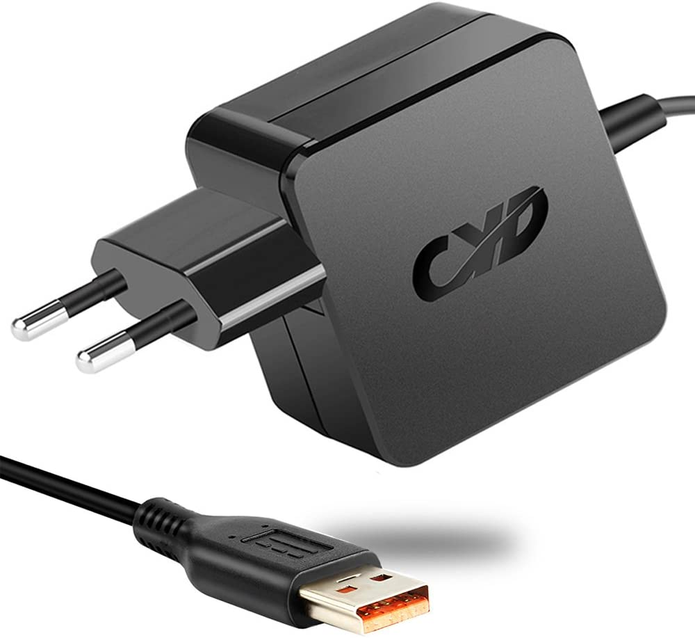 Power4Laptops Adattatore CC Auto Caricabatteria per Tablet Compatibile con Lenovo IdeaPad Miix 320-10ICR