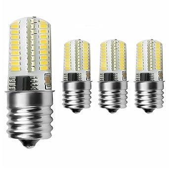 Luz. Clave paquete de 4 unidades regulable E17 LED bombilla 4 W ...