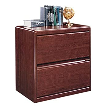 Amazon.com : Sauder Cornerstone Lateral File Classic Cherry ...