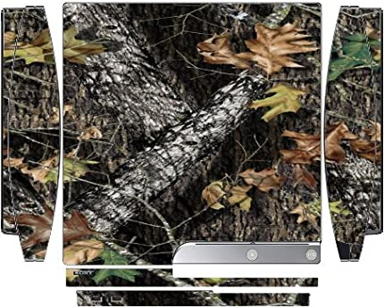 Mossy Oak Pattern Camo Playstation 3 & PS3 Slim Vinyl Decal Sticker Skin by MWCustoms