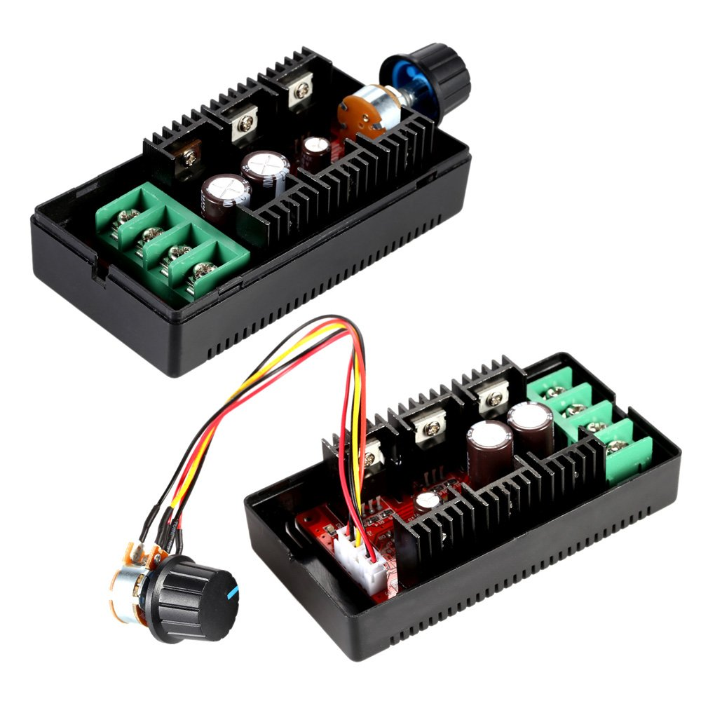KKmoon Adjustable 10-50V/40A/2000W DC Motor Speed Control PWM HHO RC Controller 12V 24V 36V 40V 50V Speed Adjuster