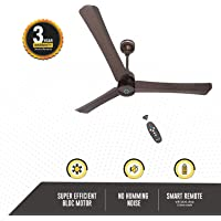 Gorilla Renesa+ Energy Saving 5 Star Rated Ceiling Fan With Remote Control and BLDC Motor,1200mm (Earth Brown)