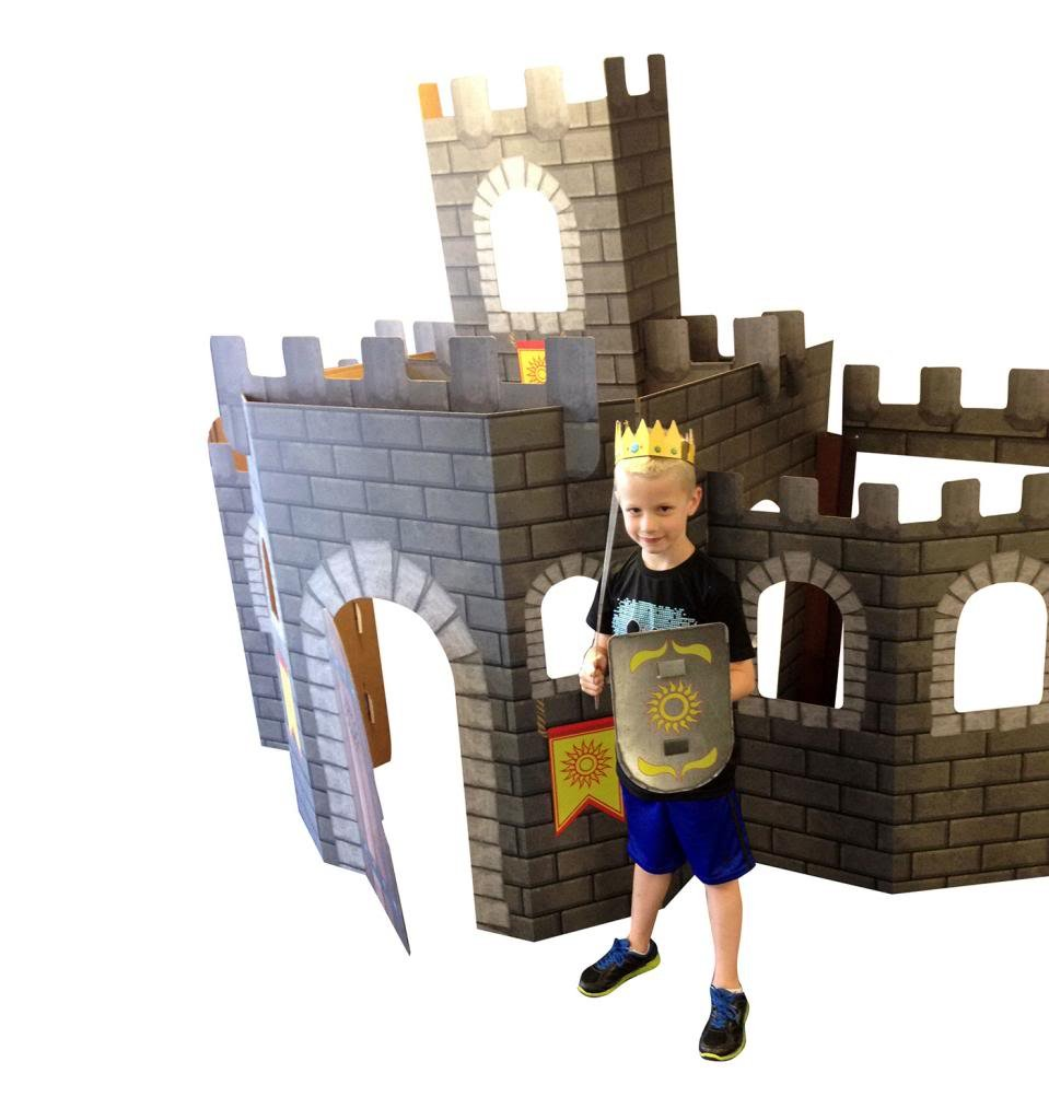 Large 3D Castle - Advanced Graphics Life Size Cardboard Standup by Advanced Graphics