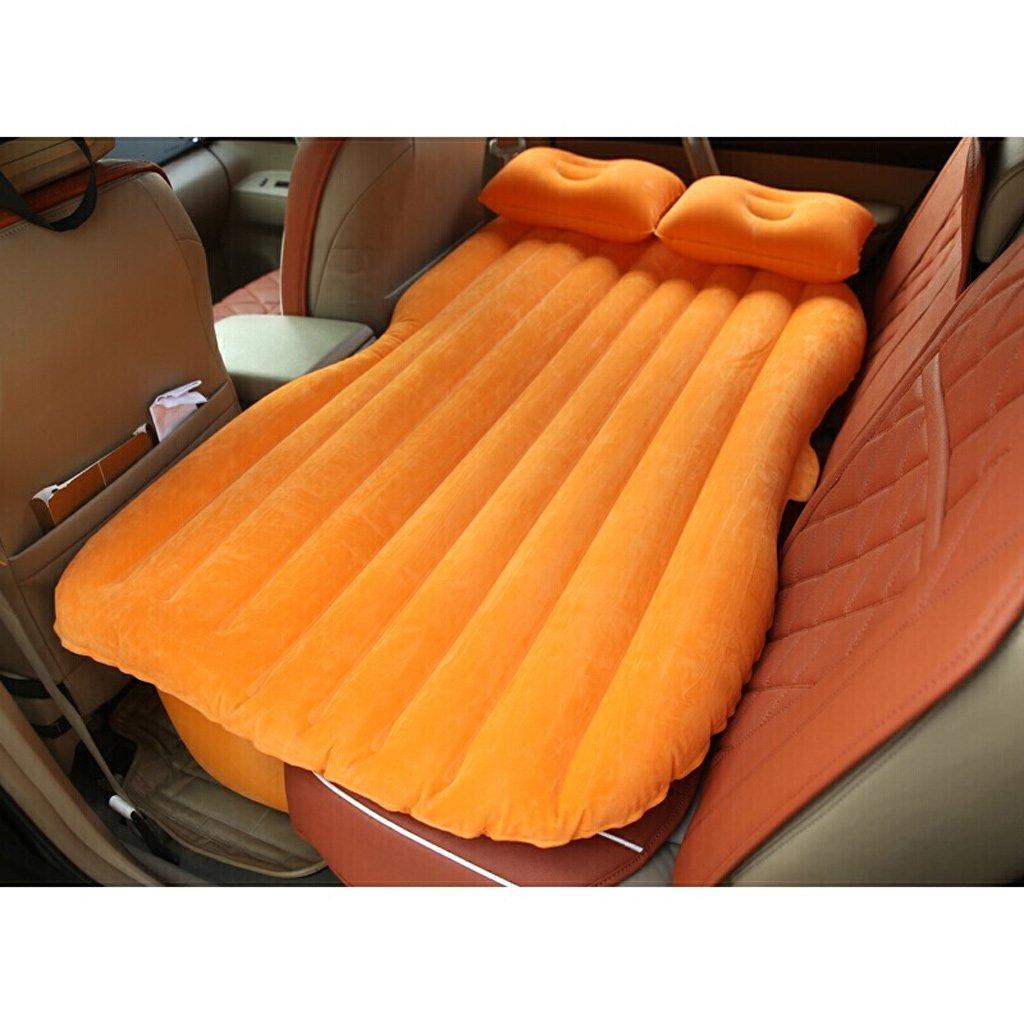 車の供給車のベッド自転車トラベルベッドブラックなし厚いフロッキングギアなし(多色オプション) B07FL2R6YJ Orange Orange