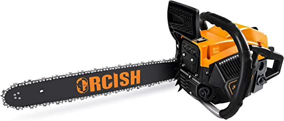ORCISH 62cc 2-Cycle 20-Inch Gas Powered Chainsaw