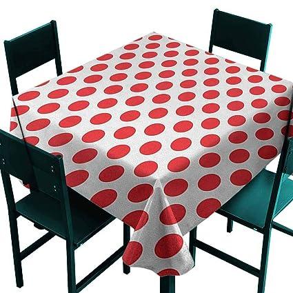Pleasant Amazon Com Sunnyhome Square Table Cloth Geometric 50S 60S Download Free Architecture Designs Scobabritishbridgeorg