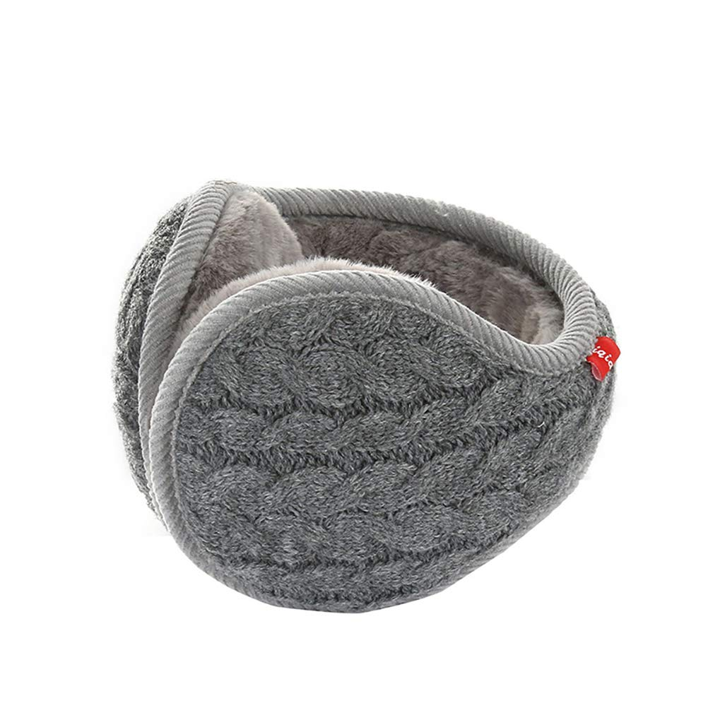 HOBULL Men Women Winter Knit Earmuffs Warm Ear Warmers Outdoors Winter Earmuffs