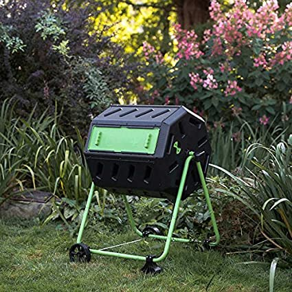 Amazon.com: Dual cámara Tumbling Tacho con rueda Kit: Jardín ...