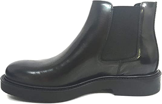 IGI&CO 2102733 nero beatles scarpe uomo pelle abrasivata