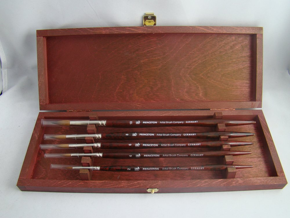 Princeton Artist Brush, Kolinsky Sable Collectors Set 5 Pc