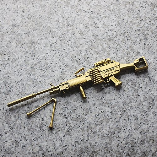 Machine Gun Shaped Gel Pen with Holder for Home Décor