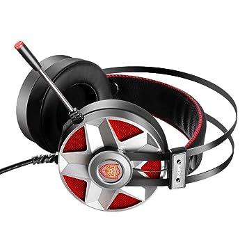 HUALQ M019 Auriculares Cool Juego Control De Línea Inteligente Retráctil Auricular De La Computadora
