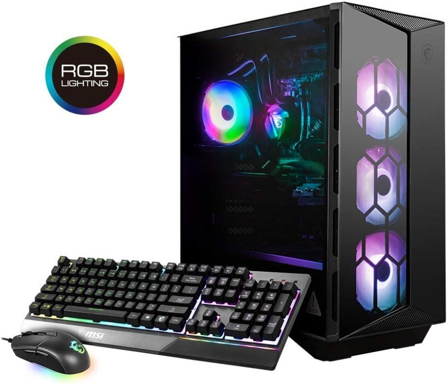 MSI Gaming Desktop Aegis RS 10SE-012US Intel Core i7 10th Gen 10700KF (3.80 GHz) 16GB DDR4 2TB 970 EVO Plus NVMe SSD GeForce RTX 2080 Super Windows 10 Home 64-bit