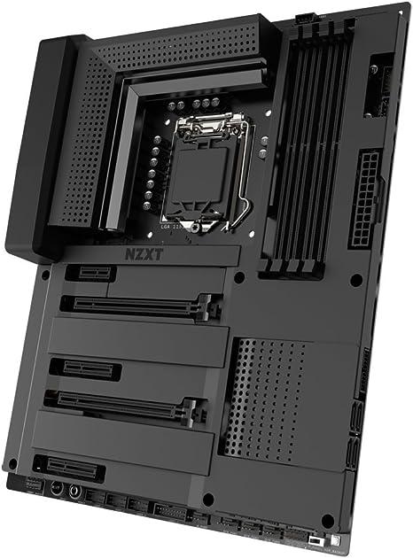 Amazon.com: NZXT N7 Z370 - N7-Z37XT-B1 - Intel Z370 chipset ...