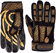 POWERHANDZ Weighted Anti-Grip Football Gloves for Strength and Resistance Training - Improve Dexterity and Arm