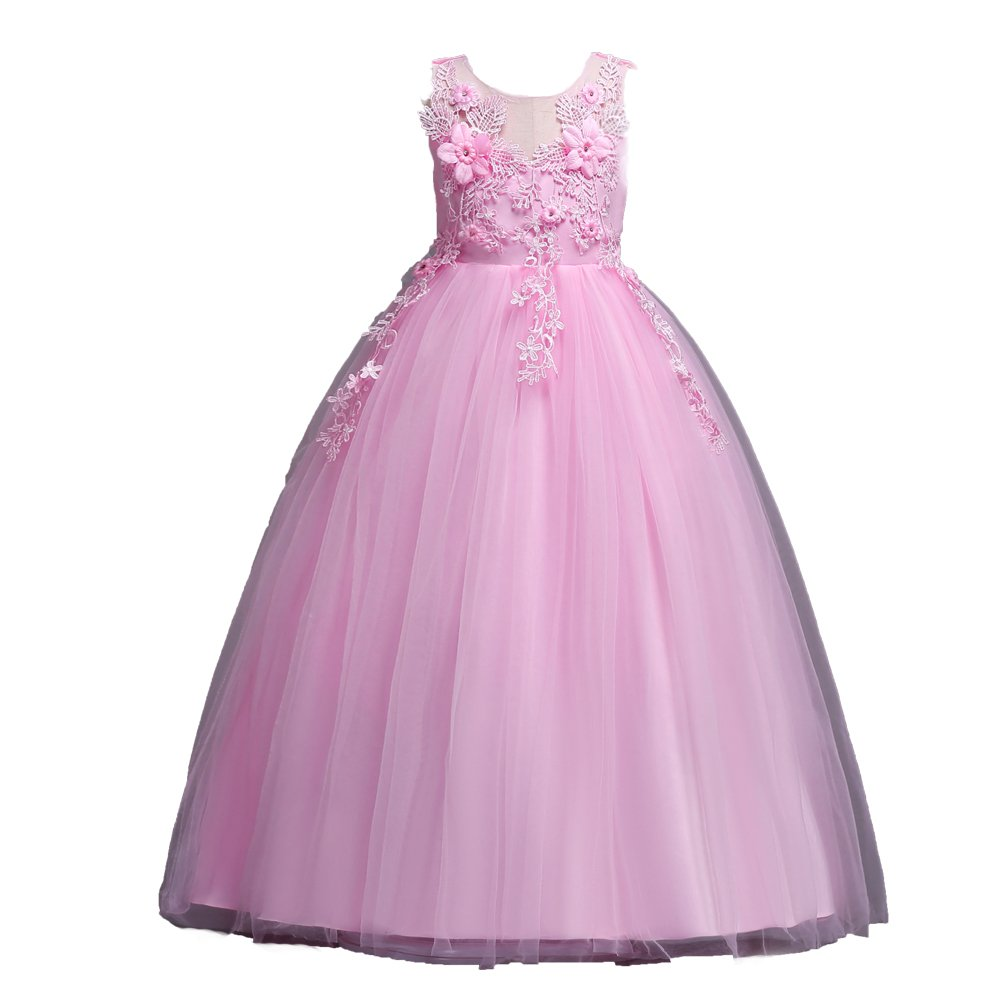 ADHS Girls Special Occasion Dresses Kids Girl Long Dresses Prom Gowns