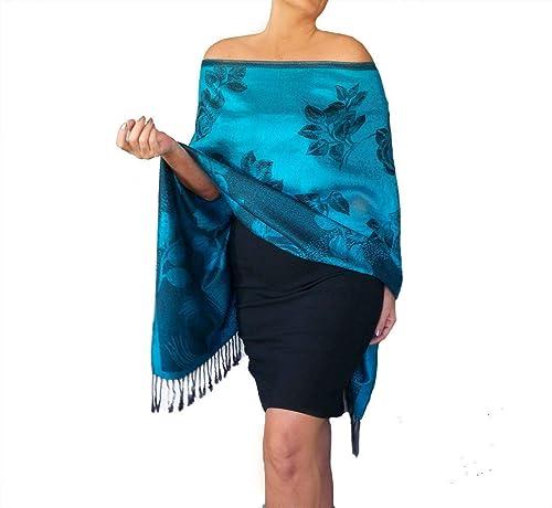 Sale,TURQUOISE Wedding CHIFFON SHAWL,Pashmina,Wrap,Stole,Scarf-78x26200cmX66