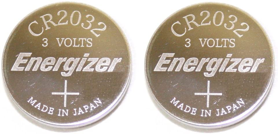 Energizer CR2032 Lithium Battery 3V Coin Cell (Value Pack of 2): Home Audio & Theater