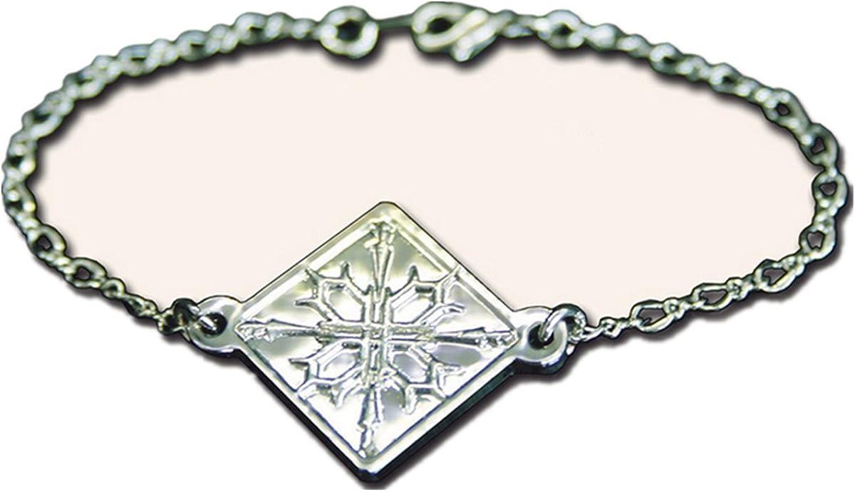 2pcs//Set Anime Vampire Knight Cross Yuki Cosplay Props Necklace Bracelet