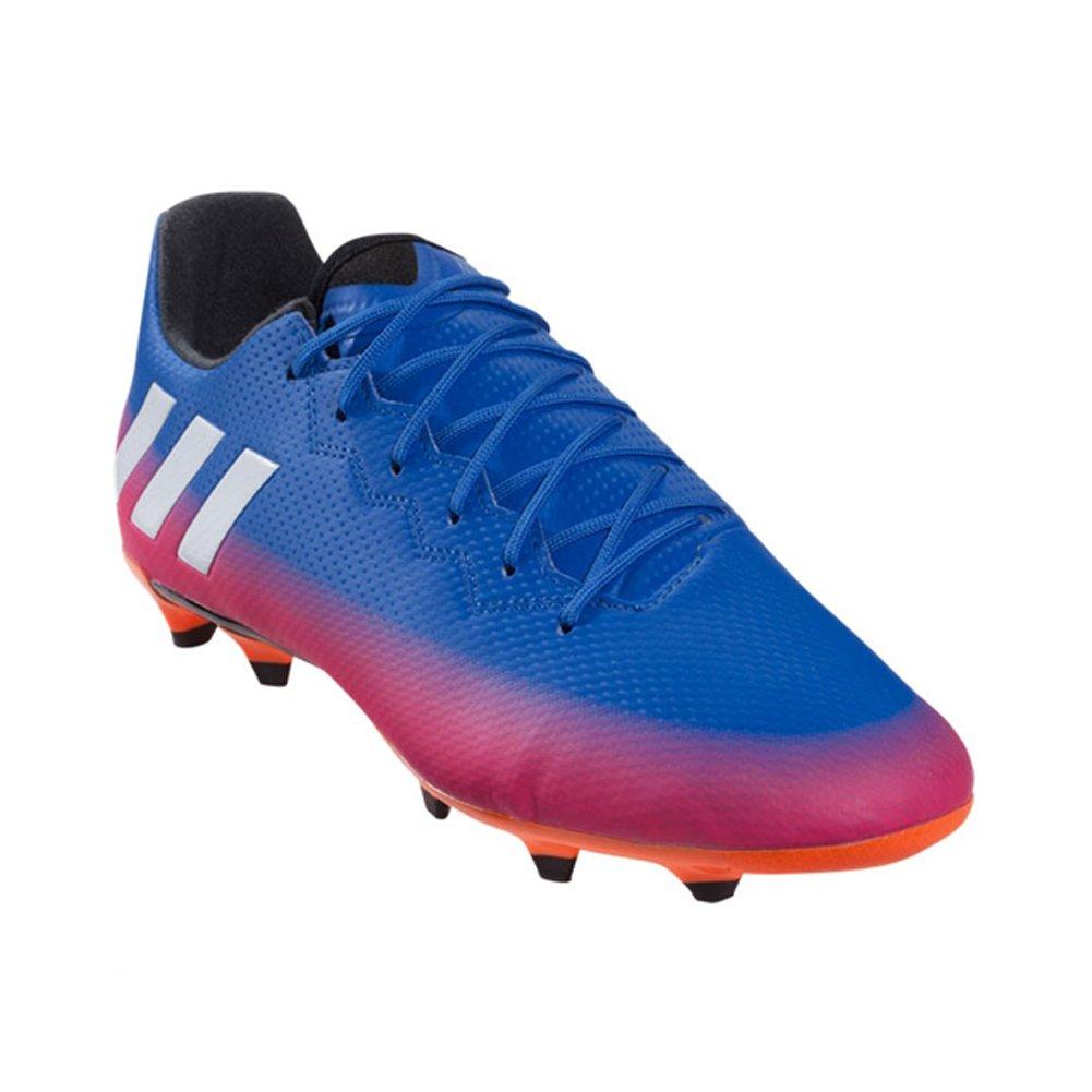 0788452dc Galleon - Adidas Men s Messi 16.3 FG Soccer Shoe Blue White Warning (11 M  US)