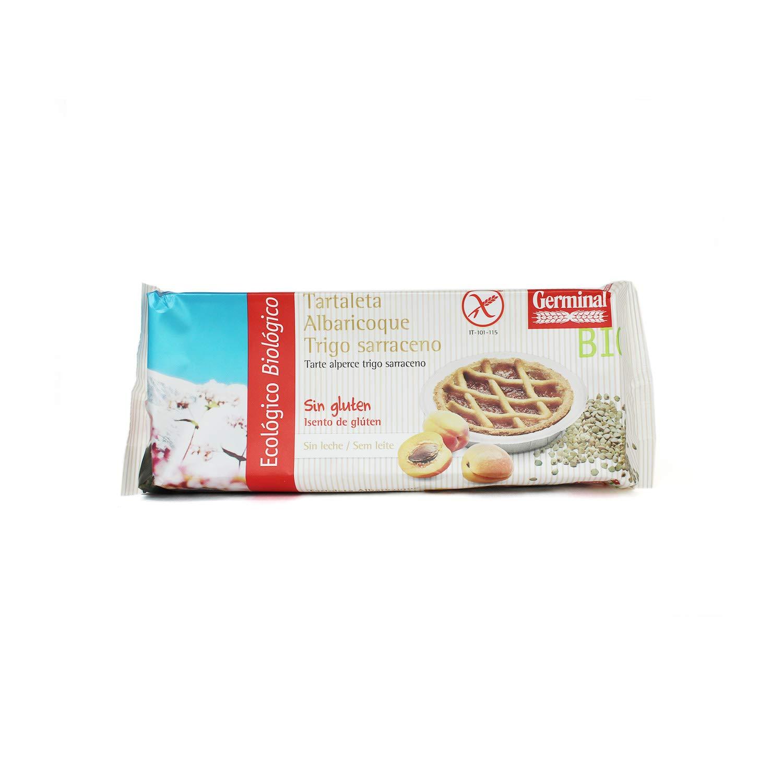 Tartaleta de albaricoque y trigo sarraceno sin gluten BIO - Germinal - 200g: Amazon.es: Alimentación y bebidas