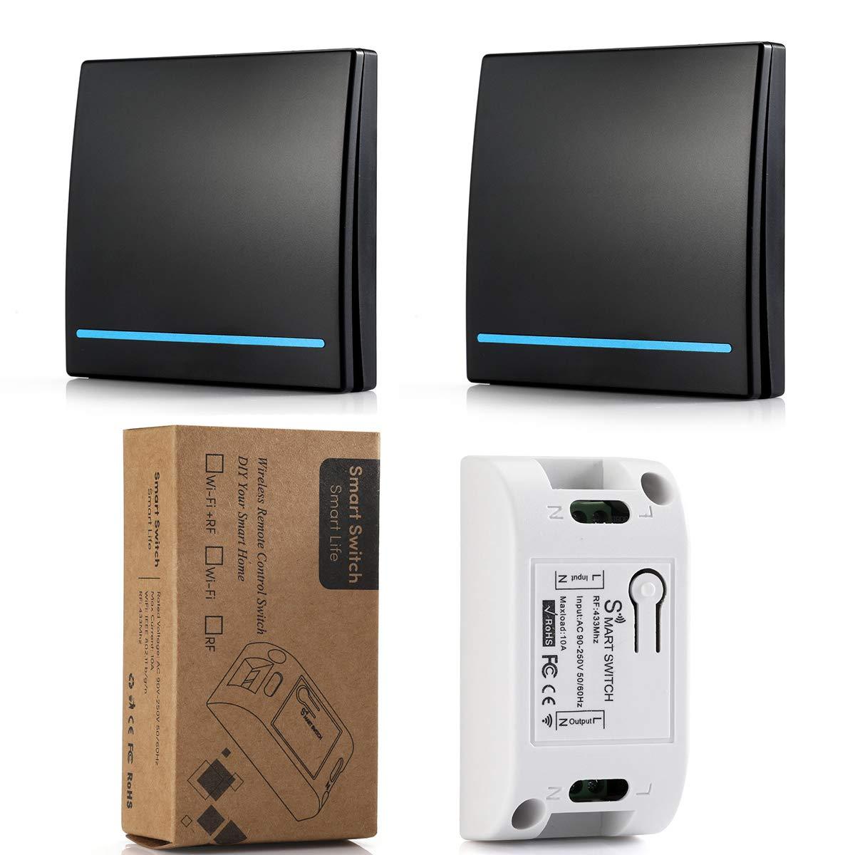 Wireless Remote Control Switch AC 110V 220V 1CH Receiver  Module and RF