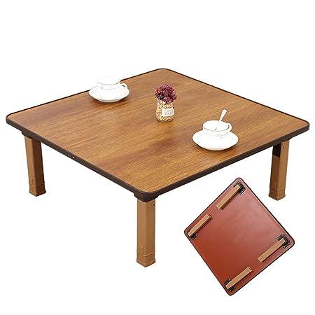 Mesa plegable práctica multifuncional, mesa baja, mesa del piso ...