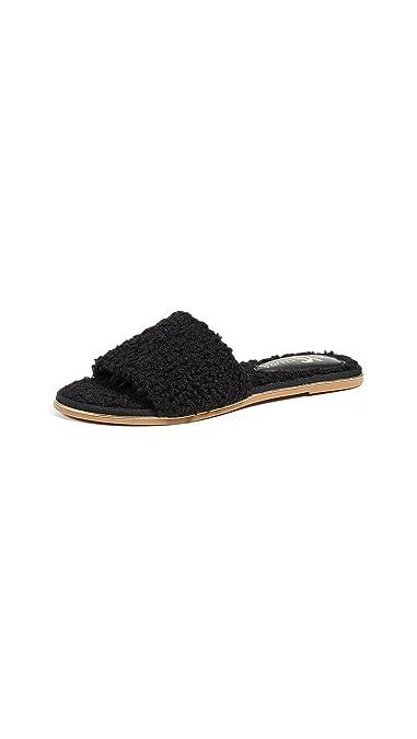 Yosi Samra Womens Rose Slide Sandal
