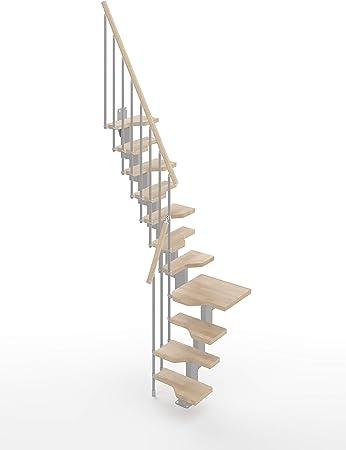 Gamia - Estantería para escalera (tamaño pequeño), color gris: Amazon.es: Bricolaje y herramientas