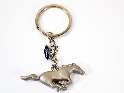 Nuevo Ford Mustang Pony Logo Llavero: Amazon.es: Coche y moto