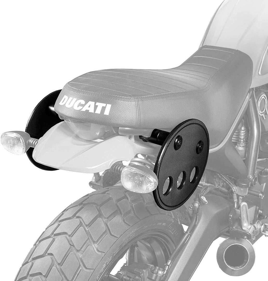 65035002 Kriega Satteltaschenhalter Duo Halteplatte F/ür Ducati Scrambler Halterung Motorrad