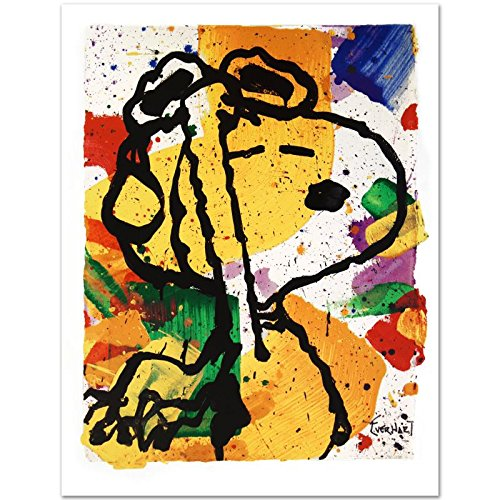 "Tom Everhart ""Salute Poster"" PEANUTS Limited Edition Fine Art Print"