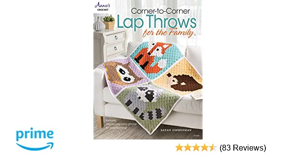 Corner To Corner Lap Throws For The Family Annies Crochet Sarah