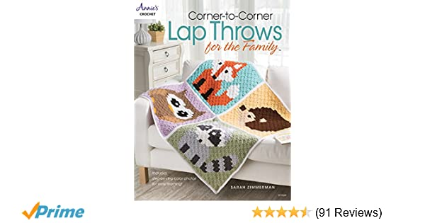Corner-to-Corner Lap Throws For the Family (Annies Crochet