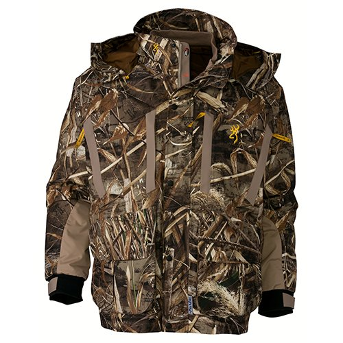 Browning Parka - Browning 3033107604 Wicked Wing 4-in-1 Parka, Realtree Max 5, X-Large, x - Large