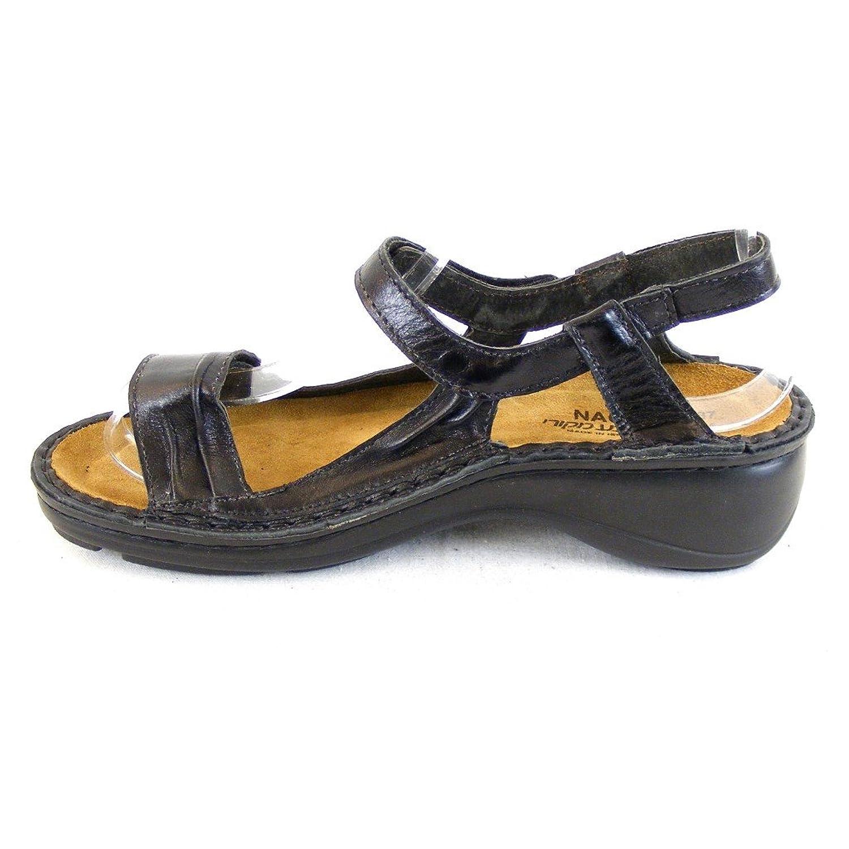 Naot Damen Schuhe Sandaletten Daisy Echt-Leder schwarz 14432 Wechselfußbett  , Größe:37: Amazon.de: Schuhe & Handtaschen