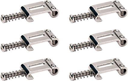 Lepeuxi Sillas de ruedas de metal de 6 piezas para guitarra ...